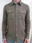 RITTENHOUSE Military Shirt, khaki, $220