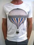 MODERN AMUSEMENT Balloon tee, grey marle, $70