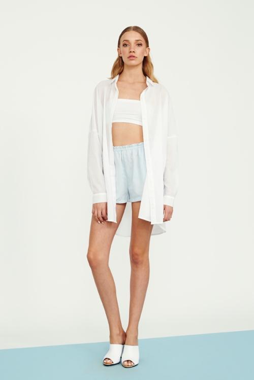 72 UB1405510 cotton voile shirt